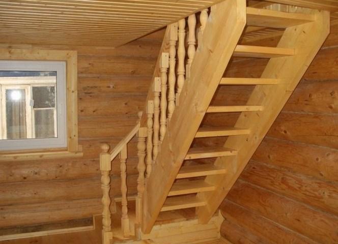 Простая лестница своими руками - материалы и расчет ступеней
