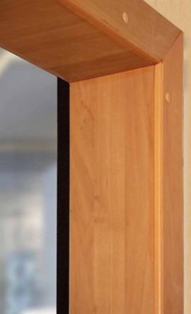 Отделка дверных откосов своими руками - способы и материалы