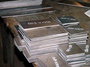 Резка металла гильотиной