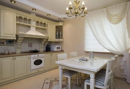 Что использовать для оформления классического стиля на кухне?