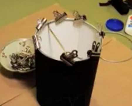 Изготовление абажура своими руками из бумаги