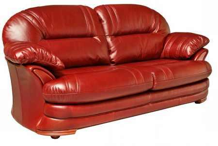 Кожаный диван — плюсы и минусы