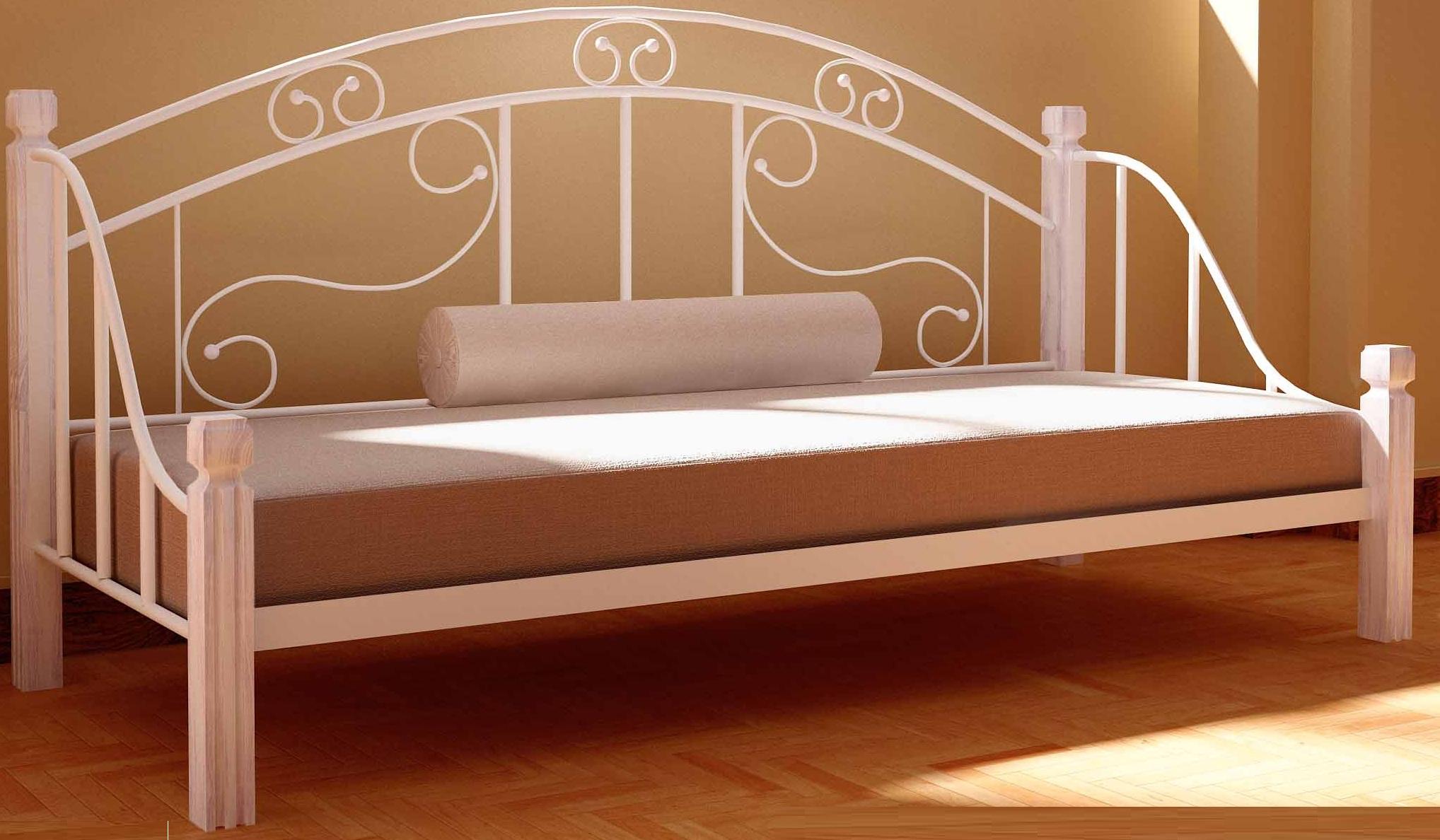 Кровати из металла. В чем их плюсы?