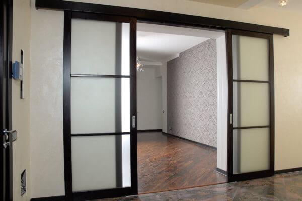 Преимущества раздвижных дверей