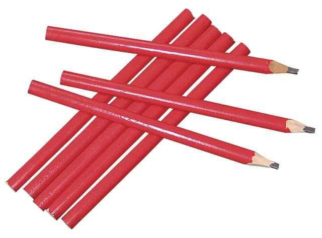 Чем отличается строительный карандаш от обычного?