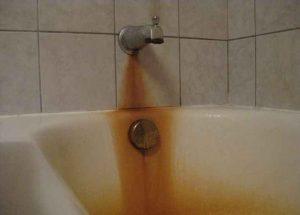 Как убрать ржавчину с ванны?