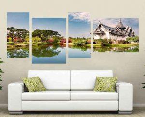 Картины на стекле