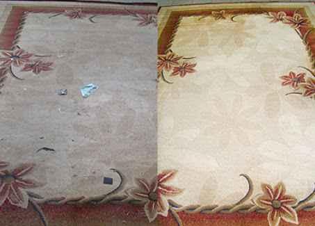 Как почистить ковёр?