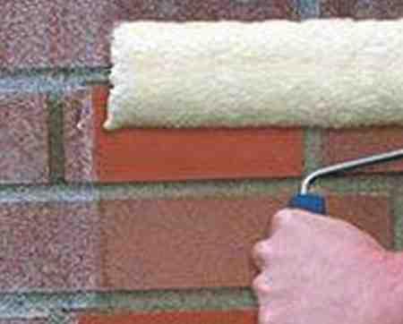 Гидрофобизация стены против высолов