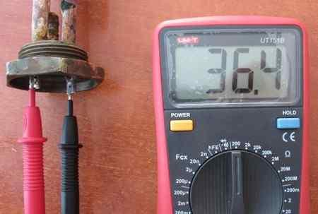 Как прозвонить тэн на водонагревателе