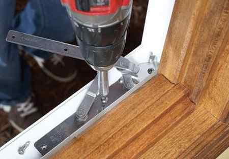 Регулировка деревянных окон