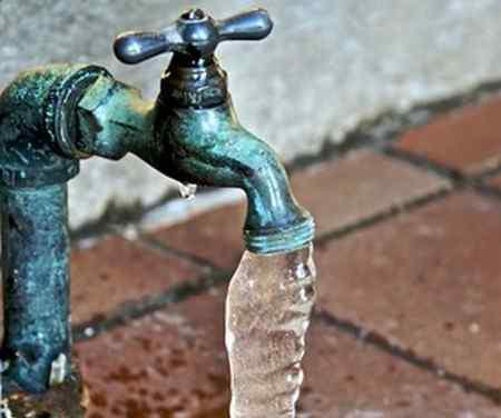 Если замерзла вода в доме