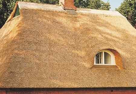 Соломенная кровля - плюсы и минусы крыши из соломы