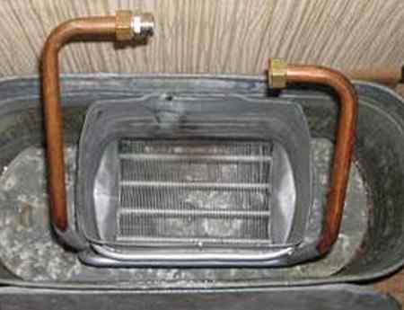 Чем промыть котел отопления - промывка теплообменника