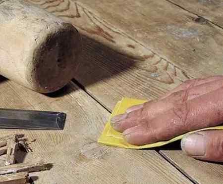 Как заделать щели в деревянном полу