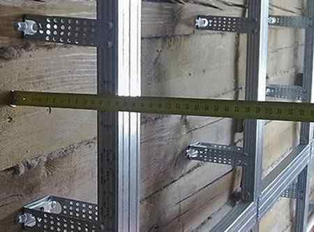 Как обшить стену гипсокартоном?