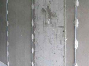 Штукатурка стен цементным раствором