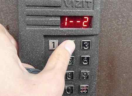 Как открыть домофон без ключа - Визит, Маршал, Метаком и другие