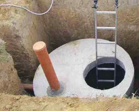 Канализация на даче - из бетонных колец или септика?