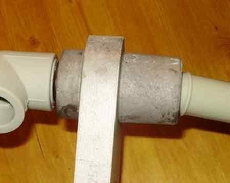 Пайка водопроводных пластиковых труб