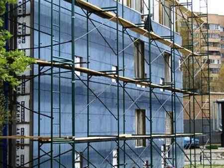 Особенности монтажа строительных лесов