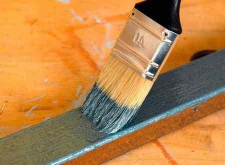 Виды красок по металлу