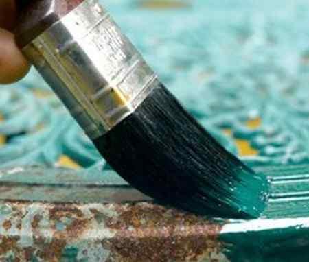 Как выбрать краску по металлу?