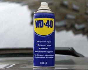 Необычное применение WD 40