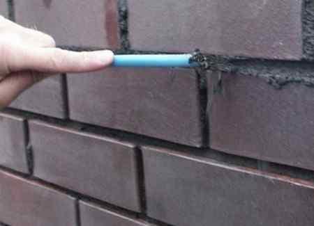Как подготовить кирпичную стену к покраске