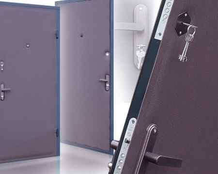 Степень изоляции двери и замки
