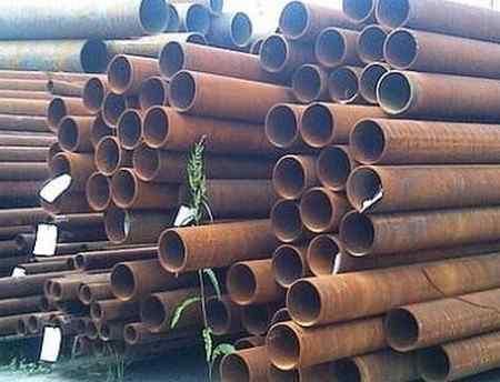 Свойства труб, изъятых из газопроводов