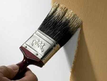 Покраска эмалью - как красить эмалью стены, пол и потолок?