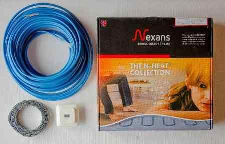 Нагревательный кабель nexans txlp/2r и txlp/1r