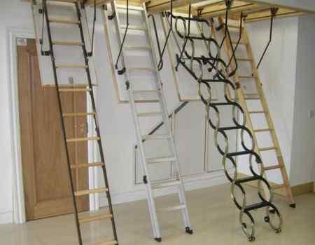 Какой должна быть лестница на чердак