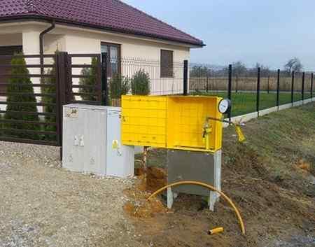 Прокладка газопровода к частному дому