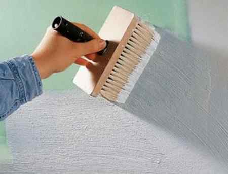 Подготовка стен из гипсокартона перед штукатуркой