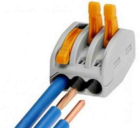 Соединение проводов скруткой или зажимами: что лучше?