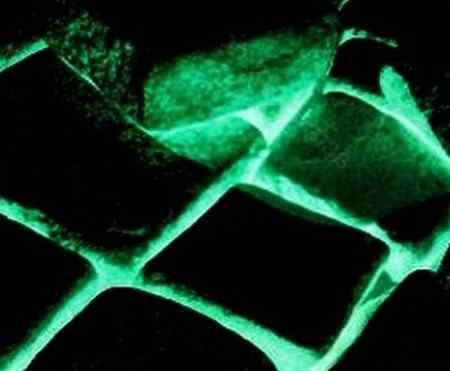 Светящаяся тротуарная плитка в темноте своими руками