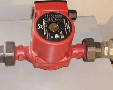 Устройство циркуляционного насоса для отопления и принцип работы
