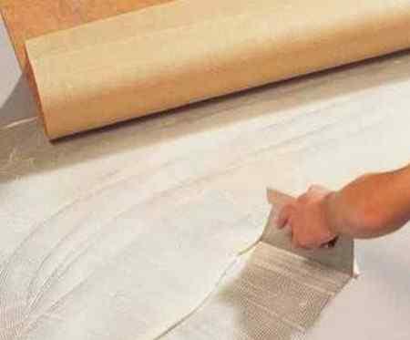 Укладка линолеума своими руками: инструмент и материалы