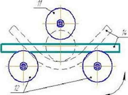 Конструкция и чертежи самодельного трубогиба
