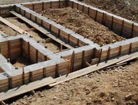 Виды фундамента домов: ленточный, плитный, свайный
