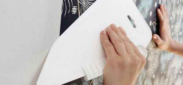Как клеить виниловые обои на бумажной и флизелиновой основе