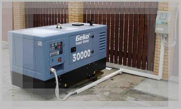 Мощность генератора на весь дом