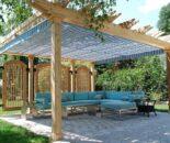 Как лучше сделать навес во дворе: советы по выбору материала, видов и форм конструкций