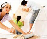 Как клеить обои на гипсокартон - на потолок, без шпаклевки
